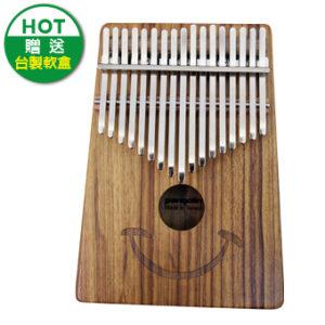 微笑緬甸柚木(單板)卡林巴琴 拇指琴 KALIMBA