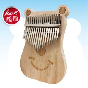 熊輕鬆 南方松 板式 卡林巴 拇指琴