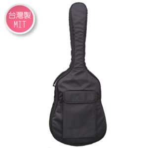 台灣製民謠吉他袋 輕便型 防潑水 軟盒case