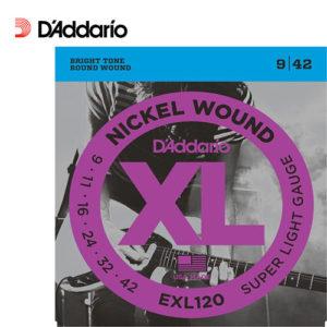 電吉他弦 Daddario EXL120