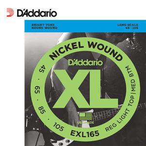 電貝士弦 Daddario EXL165