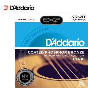 木吉他弦 Daddario EXP16 (12-53) 磷青銅