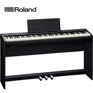 電鋼琴 Roland FP30 黑色 (含腳架組)