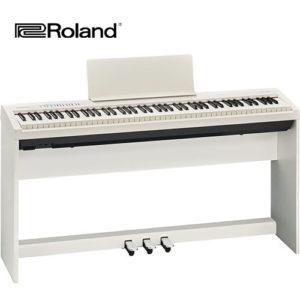 電鋼琴 Roland FP30 白色 (含腳架組)