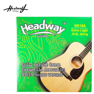 木吉他弦 Headway 黃銅 10-47 HD10A