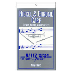 BLITZ Nickel and chrome care cloth鎳鉻保養布
