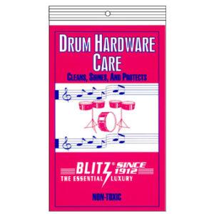 BLITZ Drum hardware care cloth鼓五金保養布