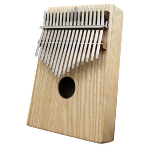 美國梣木(實木)卡林巴琴 拇指琴 搭配霧銀白鋼片