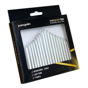 【台灣製造】卡林巴琴 拇指琴 霧銀白鋼片套組