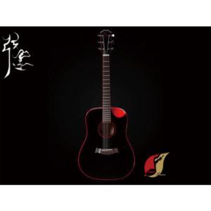 弦墨 Red&Black民謠吉他
