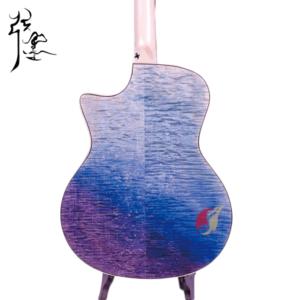 弦墨 虎紋擦色民謠吉他