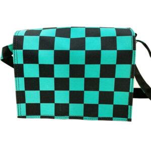 綠黑方格 卡林巴琴袋 拇指琴袋