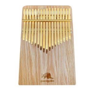 【限定優惠】紅橡木 板式卡林巴拇指琴 附贈金色鋼片