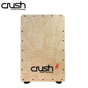 CRUSH 虎紋楓木 木箱鼓 附贈台灣製專用木箱鼓雙背袋