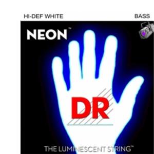 貝士弦 DR 5弦 NWB5-45 (45-125) 白色夜光