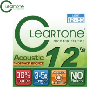 木吉他弦 ClearTone 12-53 (7412) 磷青銅