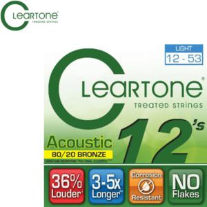 木吉他弦 ClearTone 12-53(7612) 80/20 黃銅
