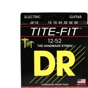 DR JZ-12電吉他弦 (12-52)Tite-Fit Jazz