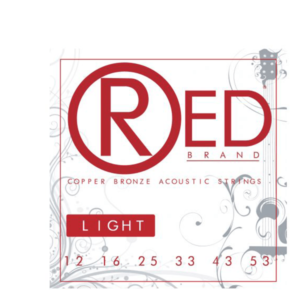木吉他弦 RED 紅青銅 Copper Bronze 12-53(7312)