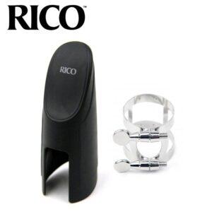 RICO 塑膠吹嘴蓋 束圈鍍鎳 中音RAS1N 次中音RTS1N