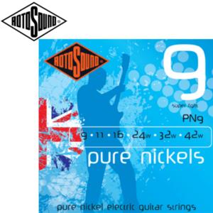 英國 ROTOSOUND PN9 (09-42) 純鎳電吉他弦
