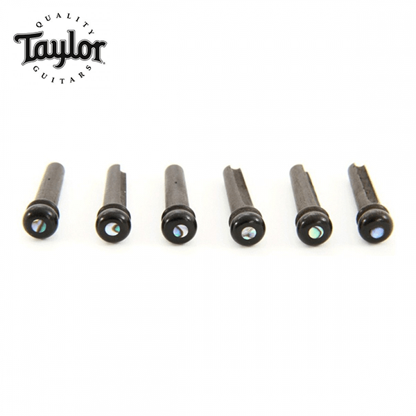 Taylor 原廠零件 木吉他弦釘 插銷 黑檀木圓貝