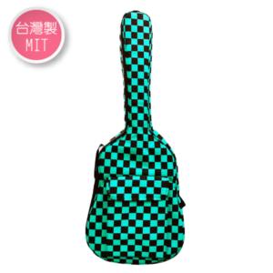 綠黑方格吉他袋 民謠吉他 樂器袋 台灣製造