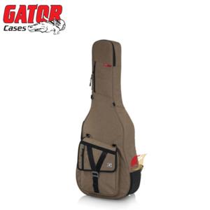 Gator case GT-ACOUSTIC-TAN 民謠吉他軟盒