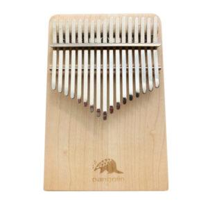 Pangolin 楓木 板式實木拼接 卡林巴 拇指琴 霧銀鋼片