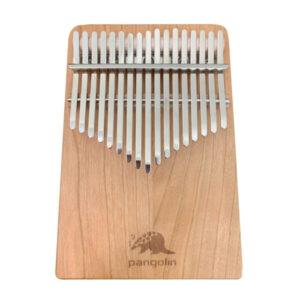 Pangolin 櫻桃木 板式實木拼接 卡林巴 拇指琴 霧銀鋼片