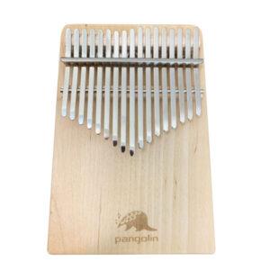 Pangolin 白樺木 板式實木拼接 卡林巴 拇指琴 霧銀鋼片