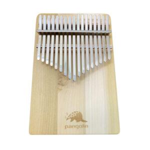 Pangolin 黃陽木 板式實木拼接 卡林巴 拇指琴 霧銀鋼片