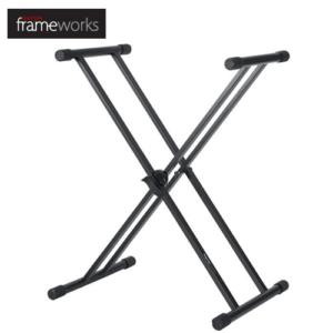 Gator Frameworks 雙X型鍵盤架 電子琴架 GFW-KEY-2000X