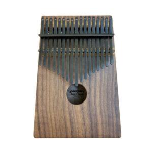 胡桃木 鍍鈦鋼片曜岩黑 箱式實木 卡林巴琴 拇指琴