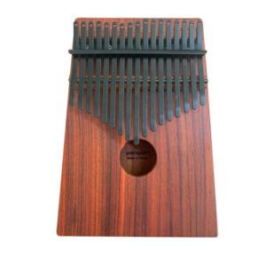 非洲酸枝(紅壇) 鍍鈦鋼片曜岩黑 箱式實木 卡林巴 拇指琴