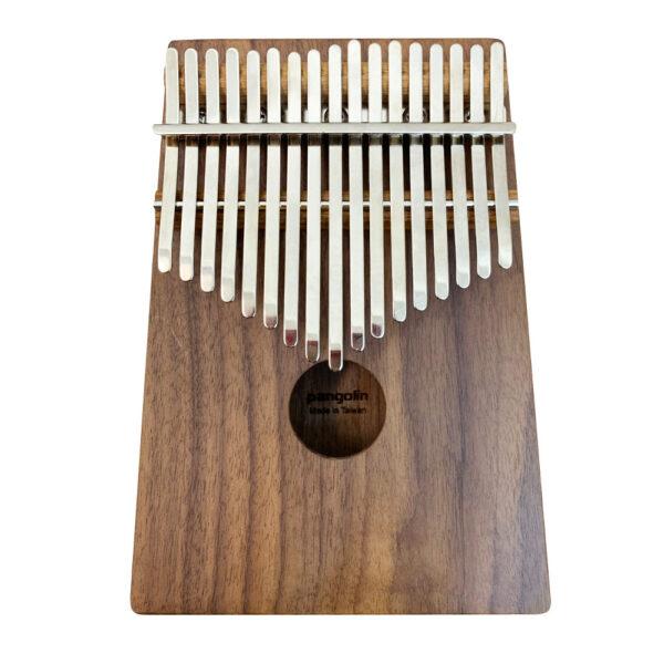 胡桃木 箱式實木卡林巴琴 拇指琴