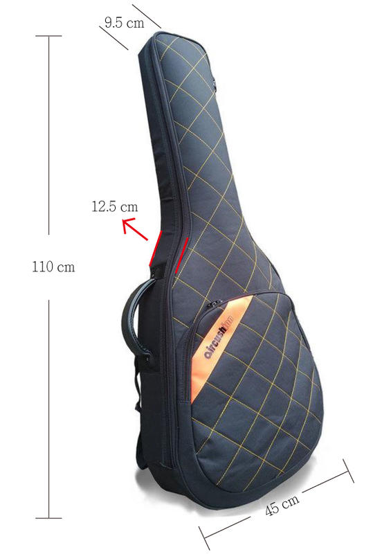 Aircushion 充氣氣墊吉他袋 民謠吉他袋 台灣製